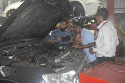 Training program on vehicle maintenance and safe driving for save the children-10
