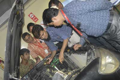 Training program on vehicle maintenance and safe driving for save the children-11
