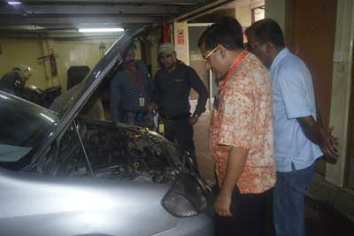 Training program on vehicle maintenance and safe driving for save the children-12