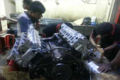 Land Cruiser V8 1TV-FTV Engine Overhauling-2