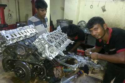 Land Cruiser V8 1TV-FTV Engine Overhauling-3