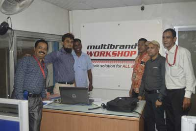 Training program on vehicle maintenance and safe driving for save the children-8