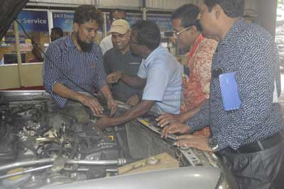Training program on vehicle maintenance and safe driving for save the children-9