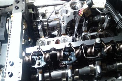 BMW X-5 E-Drive -2016 Engine Timing Checkup & Adjustment (4)