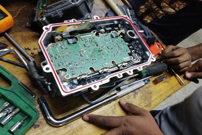 audi hybrid inverter repair and service (1)